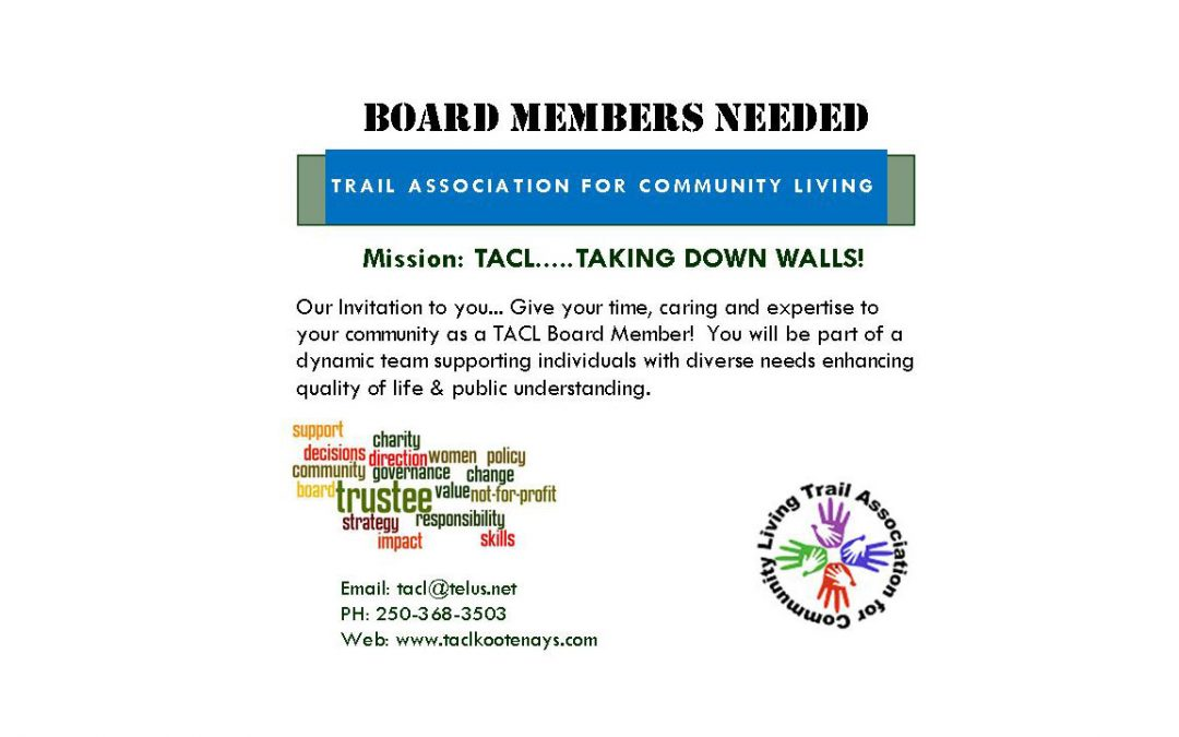 Board Members Wanted