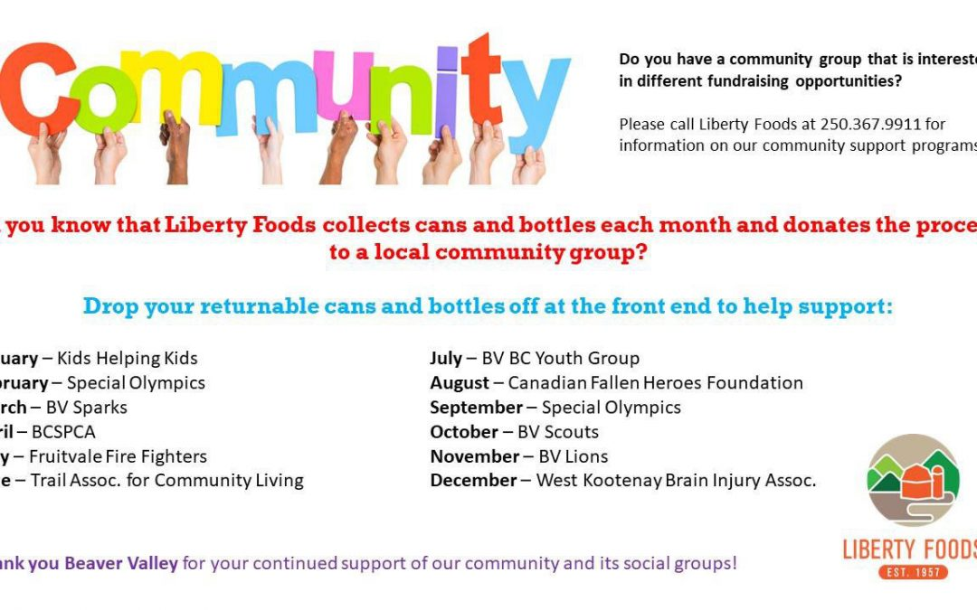 Liberty Foods Community Support